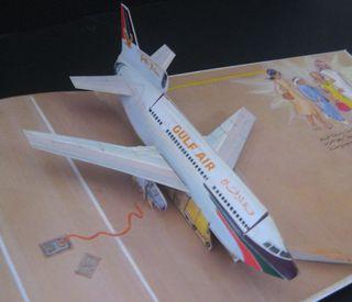 Inside Gulf Air